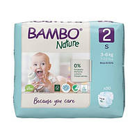 Підгузники Bambo Nature 2 (3-6 кг) 30 шт