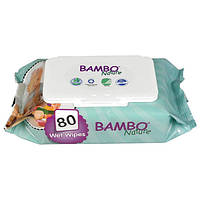 Серветки вологі Bambo Nature 80 шт