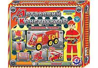 Конструктор ТехноК Пожарная техника металлический 2056