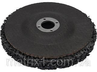 Круг зачистной нейлоновый для УШМ  Ø125 мм 12500 об/мин М14 YATO