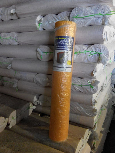 Сетка штукатурная фасадная 145 гр/м2, 160 гр/м2