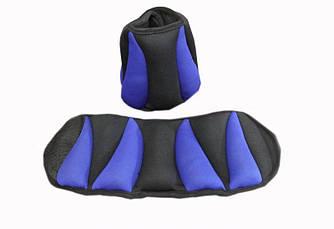 Утяжелители для ног и рук EVROTOP ( 1 кг * 2 шт) неопрен SS-LKW-1211 1кг Утяжелители для ног и рук EVROTOP ( 1