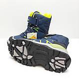 Термо ботинки для мальчика на овчине Tom.m р. 28 (18,5 см), 29 (19 см), 30 (19,5 см), фото 4
