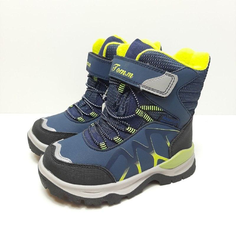 Термо ботинки для мальчика на овчине Tom.m р. 28 (18,5 см), 29 (19 см), 30 (19,5 см)
