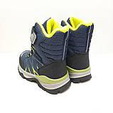 Термо ботинки для мальчика на овчине Tom.m р. 28 (18,5 см), 29 (19 см), 30 (19,5 см), фото 3
