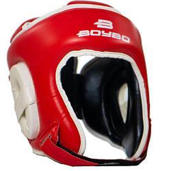 Боксерский тренировочный шлем BoyBo серияч Universal Nylex р.M, красн. SW3-73-3 L