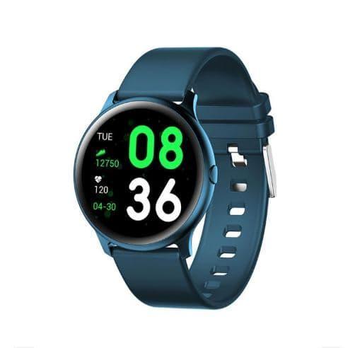 Умные часы Smart Watch  KW19 pro Green счетчик калорий, пульсометр, тонометр, шагомер
