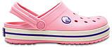 Кроксы детские Crocs Crocband Kids розовые J3/ 22,0 – 22,5 см, фото 2