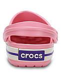 Кроксы детские Crocs Crocband Kids розовые J3/ 22,0 – 22,5 см, фото 4
