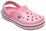 Кроксы детские Crocs Crocband Kids розовые J3/ 22,0 – 22,5 см, фото 5