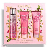 Набор Le Trio Parfume Rose De Vigne Caudalie (три продукта)