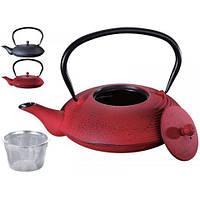 Заварочный чайник чугунный с фильтром Peterhof PH-15625 (1 л)