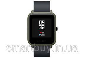 Смарт часы Xiaomi Amazfit Bip A1608 (12 месяцев гарантии)  Kokoda Green + дополнительный ремешок