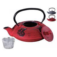 Заварочный чайник чугунный с фильтром Peterhof PH-15622 (0,8 л)