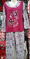 Женская пижама байка 601