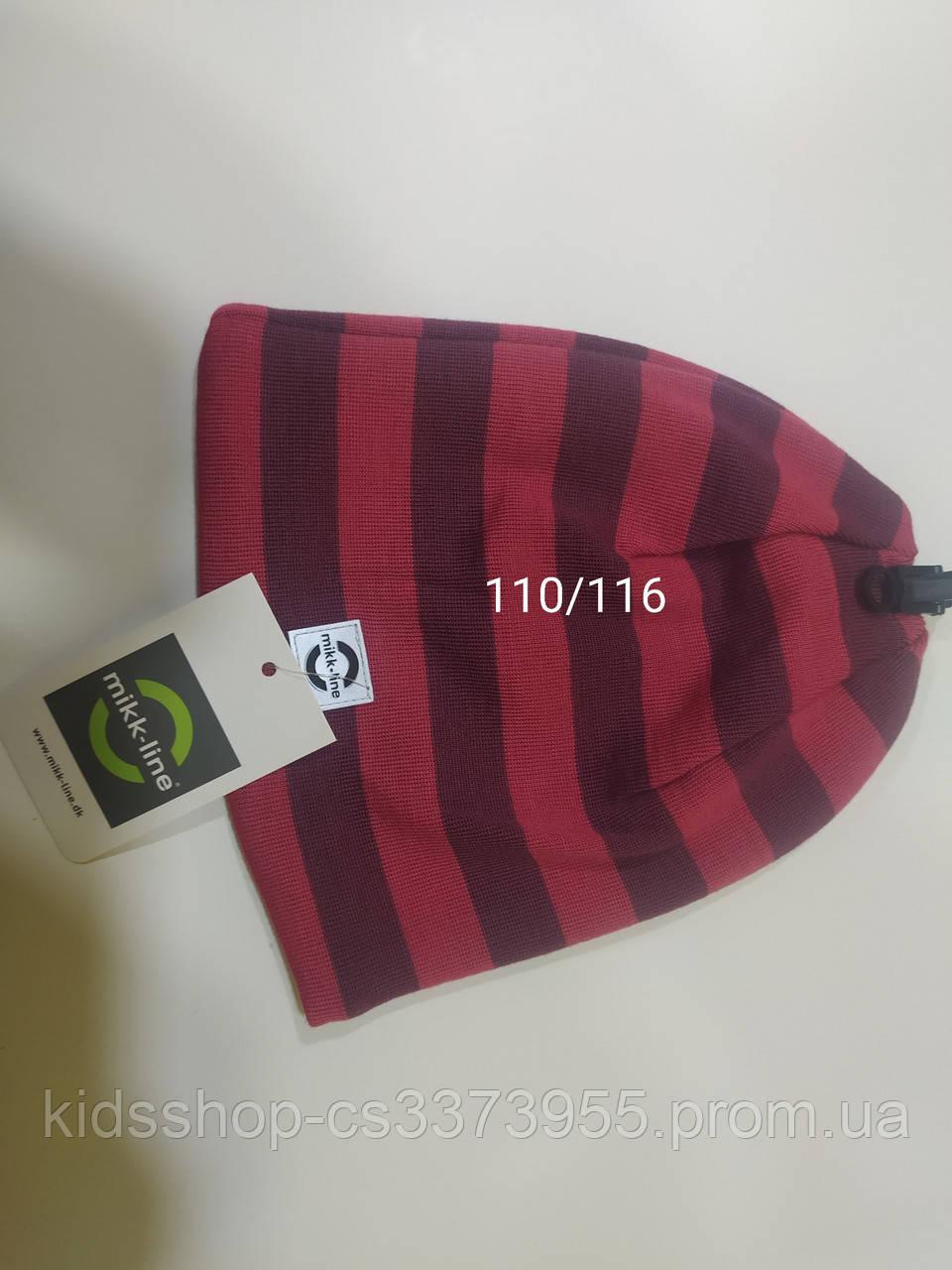 Шапка осень-зима детская размер 110/116