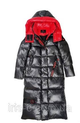 Пуховик пальто женское удлиненное, большой размер 50