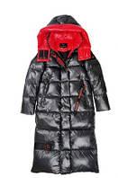 Пуховик пальто женское удлиненное, большой размер 50, фото 1