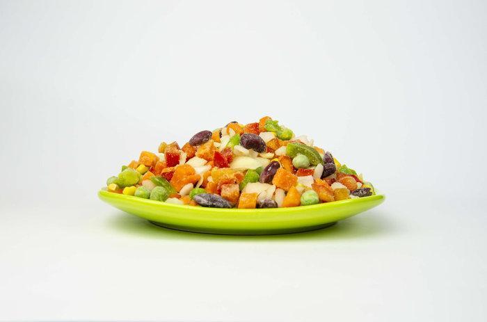 Мексиканская смесь с бобами спаржи(перец,морковь,кукуруза зерно,горох,бобы спаржи)