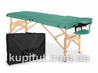 Складной массажный стол, 2-х сегментный, деревянный AVENO Life Aura (Чирок), фото 1