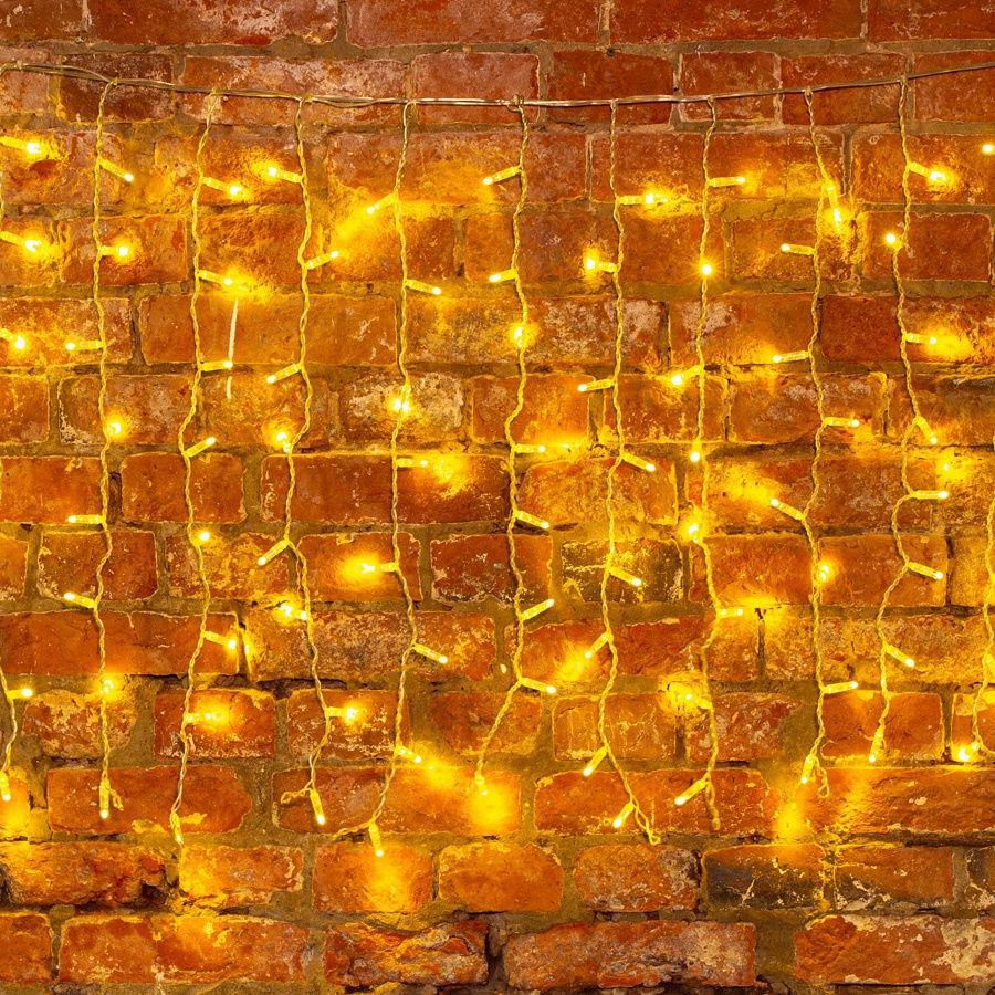 Гірлянда Бахрома 12x0,6 метра 360 LED, 60 ниток, 220В, IP55, (вулиця і будинок) СС-1793-65