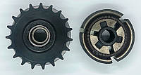 Центробежное сцепление под цепь ИЖ 19 зубьев шаг 520 (вал 19мм)