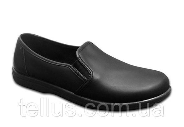 Туфли рабочие кожаные