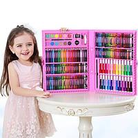 Набір для дитячої творчості у валізі з 208 предметів, фото 1