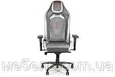 Геймерское компьютерное кресло Barsky VR Cyberpunk Microfiber Black CYB-01, фото 2