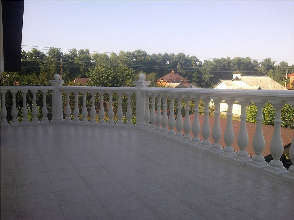 Балюстрада Киев | Балясины из бетона в Киевской области 6