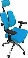 Офісне крісло GT Racer X-W95 Orthopedic Blue