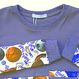 Детская пижама р.104,116,122,128 для мальчика SmileTime Sport Time, темно-синяя, фото 3
