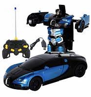 Радиоуправляемая машинка Трансформер Bugatti 377