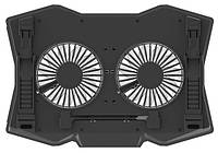 Подставка для ноутбука Omega Laptop Cooling PAD 2 fans Black
