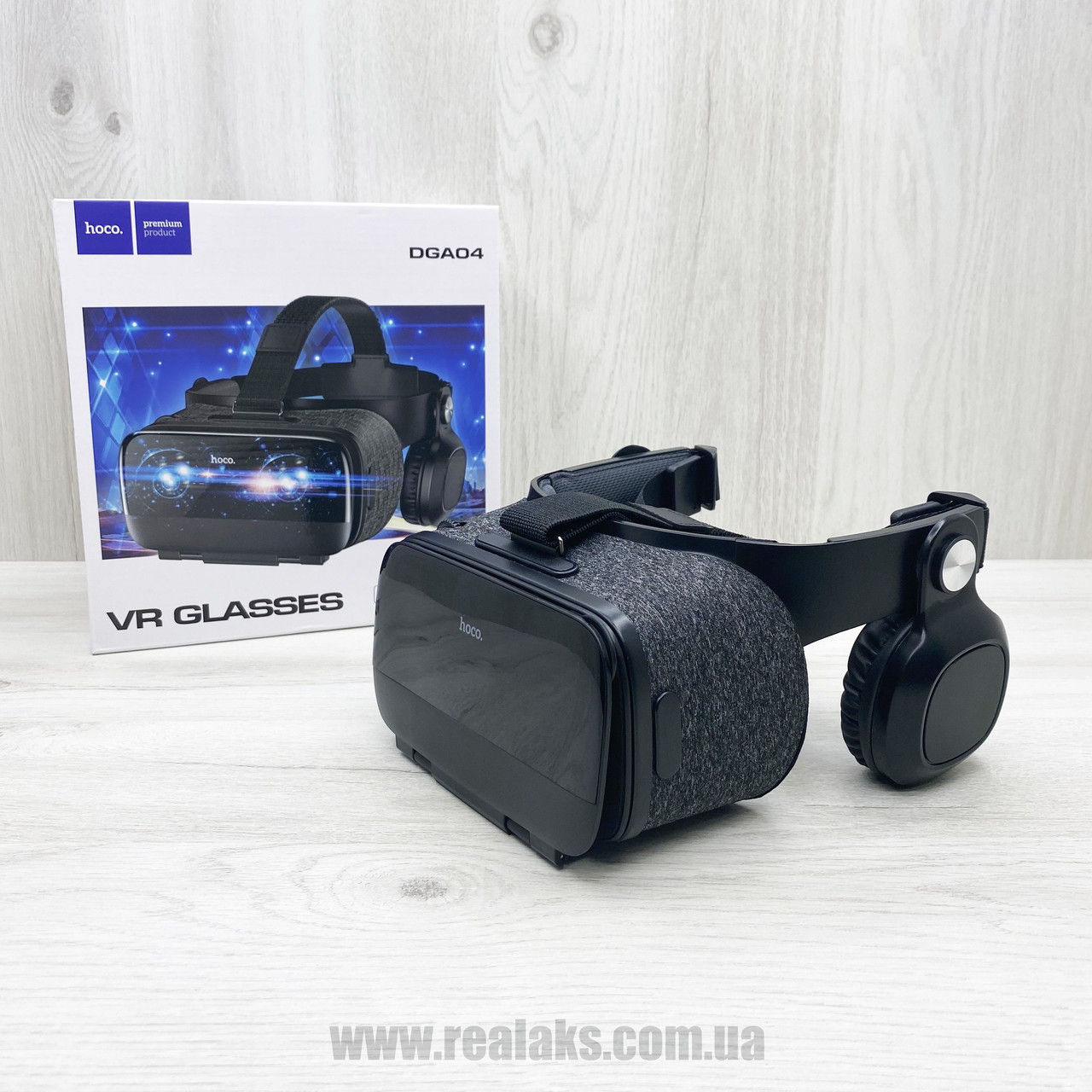 Очки виртуальной реальности Hoco VR Glasses DGA04 (black)
