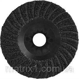 Диск шліфувальний по дереву, каменю, металу YATO 125 X 22.2 мм Р80 YT-83265