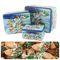 """Печенье с предсказаниями """"Снеговик"""" №1, 16 шт. в шоколадной глазури"""