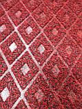 Коврик под двери Dariana Grass 80х120см красный, фото 2