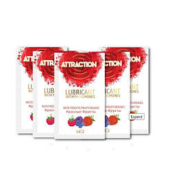 Пробник лубриканта с феромонами MAI ATTRACTION LUBS RED FRUITS (10 мл)