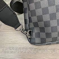 Мужская сумка Louis Vuitton Avenue Damier Graphite. Сумка Луи Виттон, фото 3