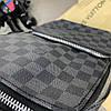Мужская сумка Louis Vuitton Avenue Damier Graphite. Сумка Луи Виттон, фото 2