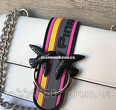 Шкіряна жіноча сумка Пінко Pinko Love Bag Sport in Pell