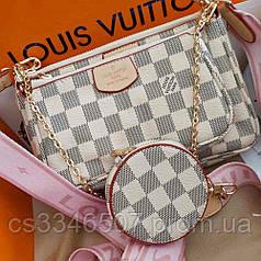 Сумка Louis Vuitton Multi Pochette Rose. Жіноча сумка Луї Віттон