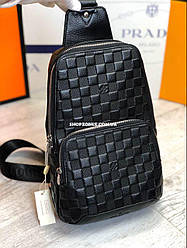 Louis Vuitton Avenue Sling. Мужской сумка слинг Луи Виттон