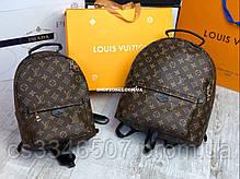 Шкіряний рюкзак Louis Vuitton. Жіночий рюкзак Луї Віттон, фото 3