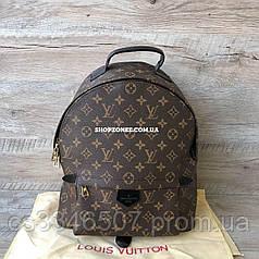 Рюкзак Louis Vuitton. Луи Виттон кожаный рюкзак