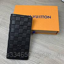 Бумажник Louis Vuitton Brazza Damier Infini, фото 2