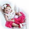 Лялька реборн дівчинка Alysi Reborn 57 див. (QAXD)