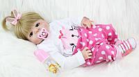 Силиконовая кукла реборн девочка Alysi 57см. (K135)