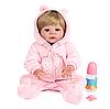 Лялька реборн силіконова дівчинка Alysi 57см. (BFWS)